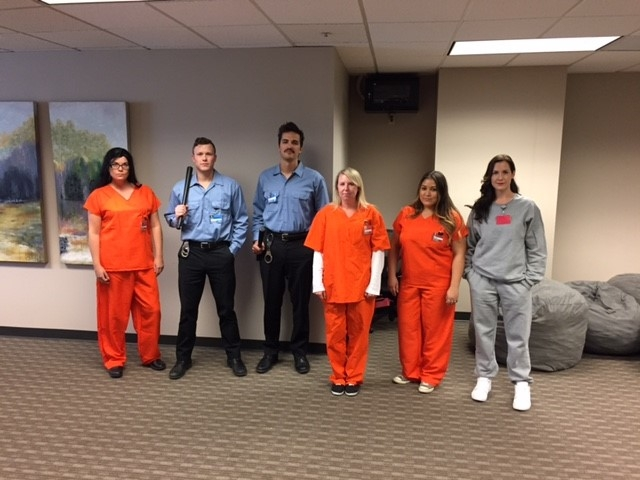 IHCL Halloween 2016 Orange is the New Office