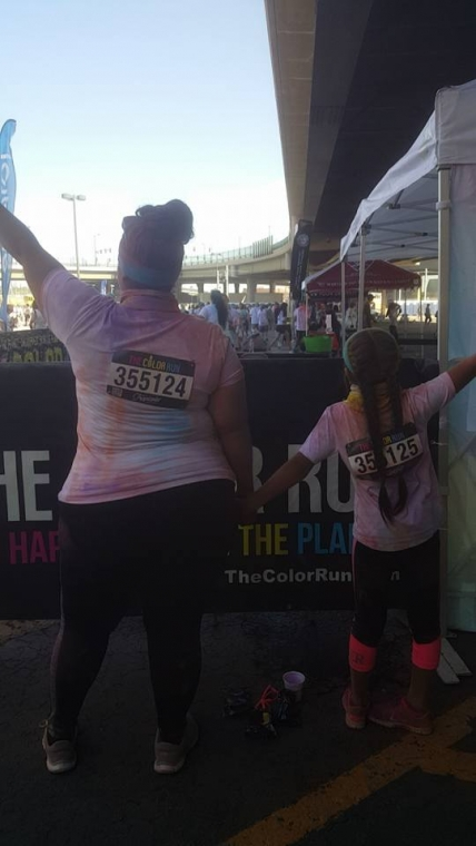 color run ashley and isi